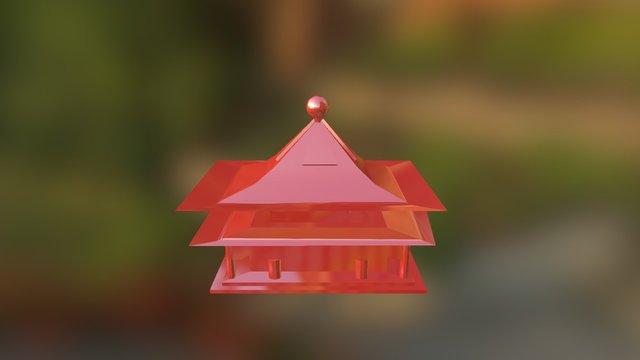 Arquitectura China 3D Model