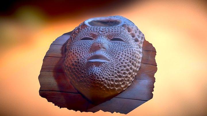 Test Jungle Mask 3D Model