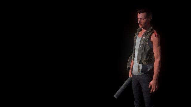 Kidd 3D Model