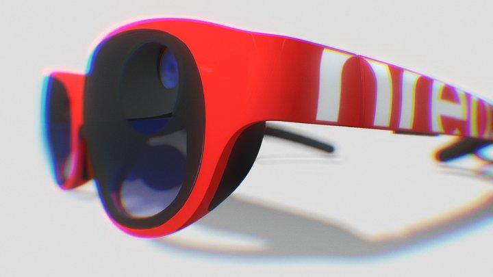 Nreal Light-Red 3D Model