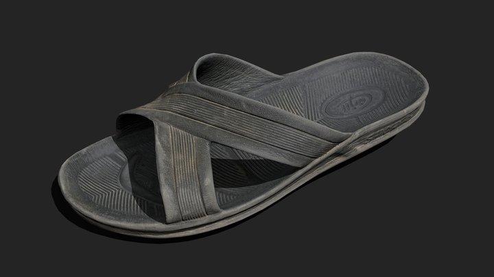 Abandoned Sandal 3D Model