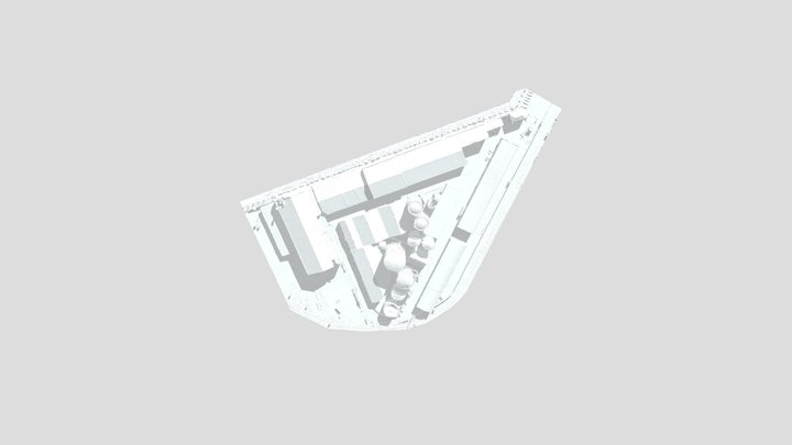 Puerto Mesh RAFA GUERRA OBJ 3D Model