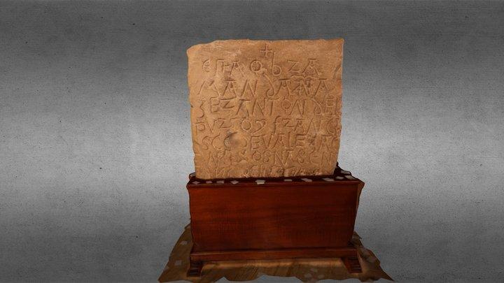Piedra (Museo Canario) 3D Model