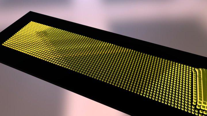Scroll Board 3D Model