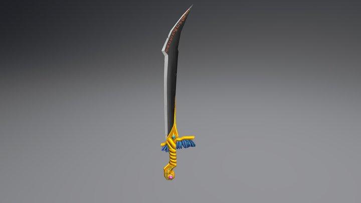 Dague 3D Model
