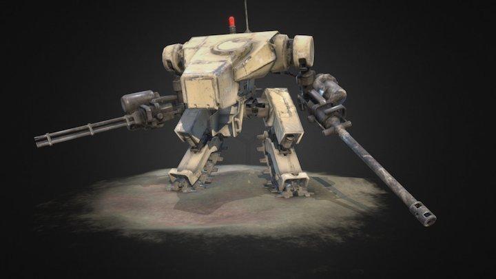 JP Mech - Sand 3D Model