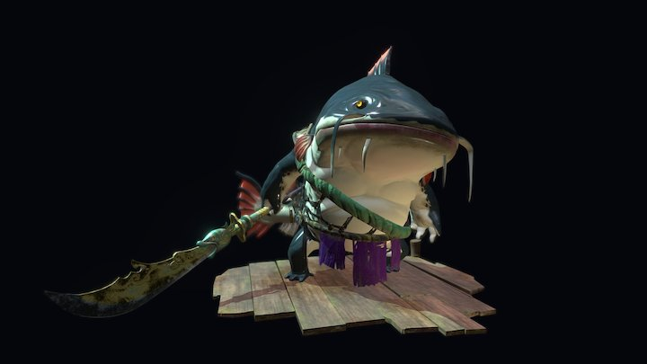 Catfish Guard 3D Model