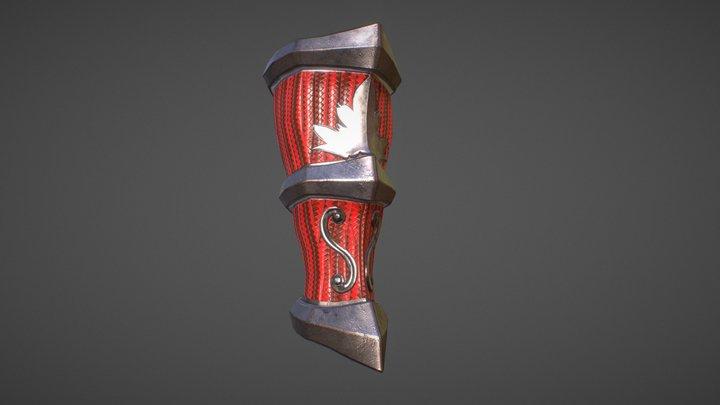 Ankle brace 3D Model