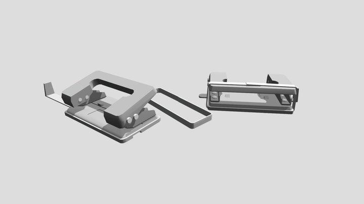 Hole Puncher 3D Model