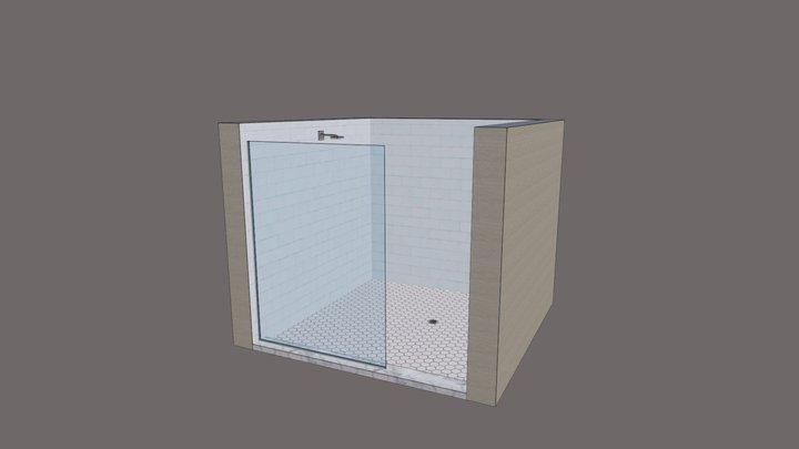 Splash Guard 3D Model 3D Model