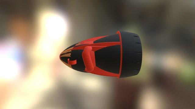 Seascooter 3D Model
