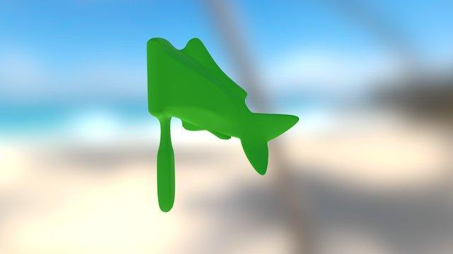 Hairfish - Annika Saboe 3D Model