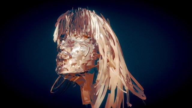 PeterShearer Female head 3D Model