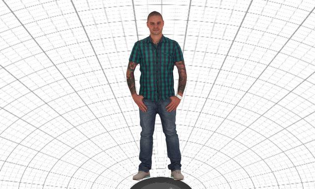 Steve casual wear 3D Model