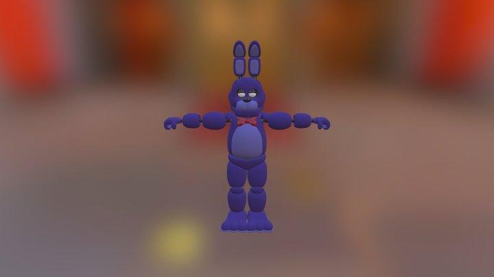 Bonnie fnaf 1 3D Model