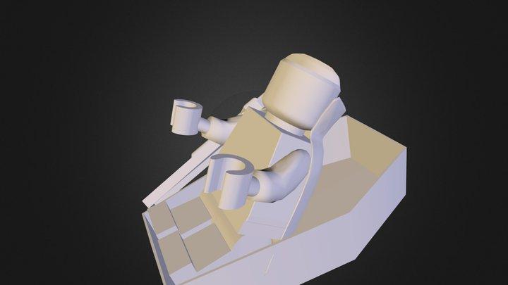 Vampire's wake up 3D Model