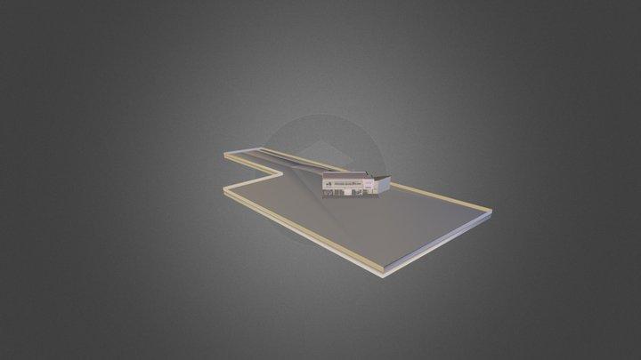 Maison Moderna - Moderna House 3D Model