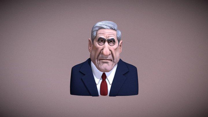 Robert Mueller Caricature 3D Model