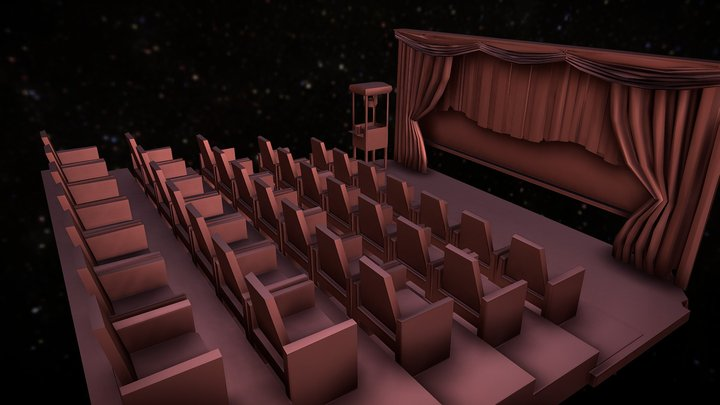 TF-DS-THEATER 3D Model