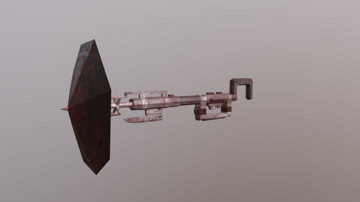 Alt_Weapon Design 3D Model