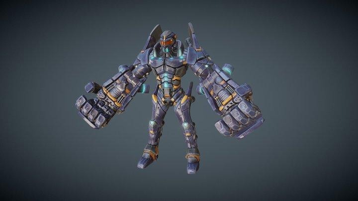 Mecha Suit - MajorFistStrong 3D Model