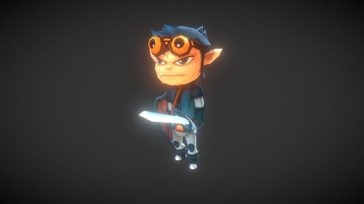 Unsung Hero 3D Model