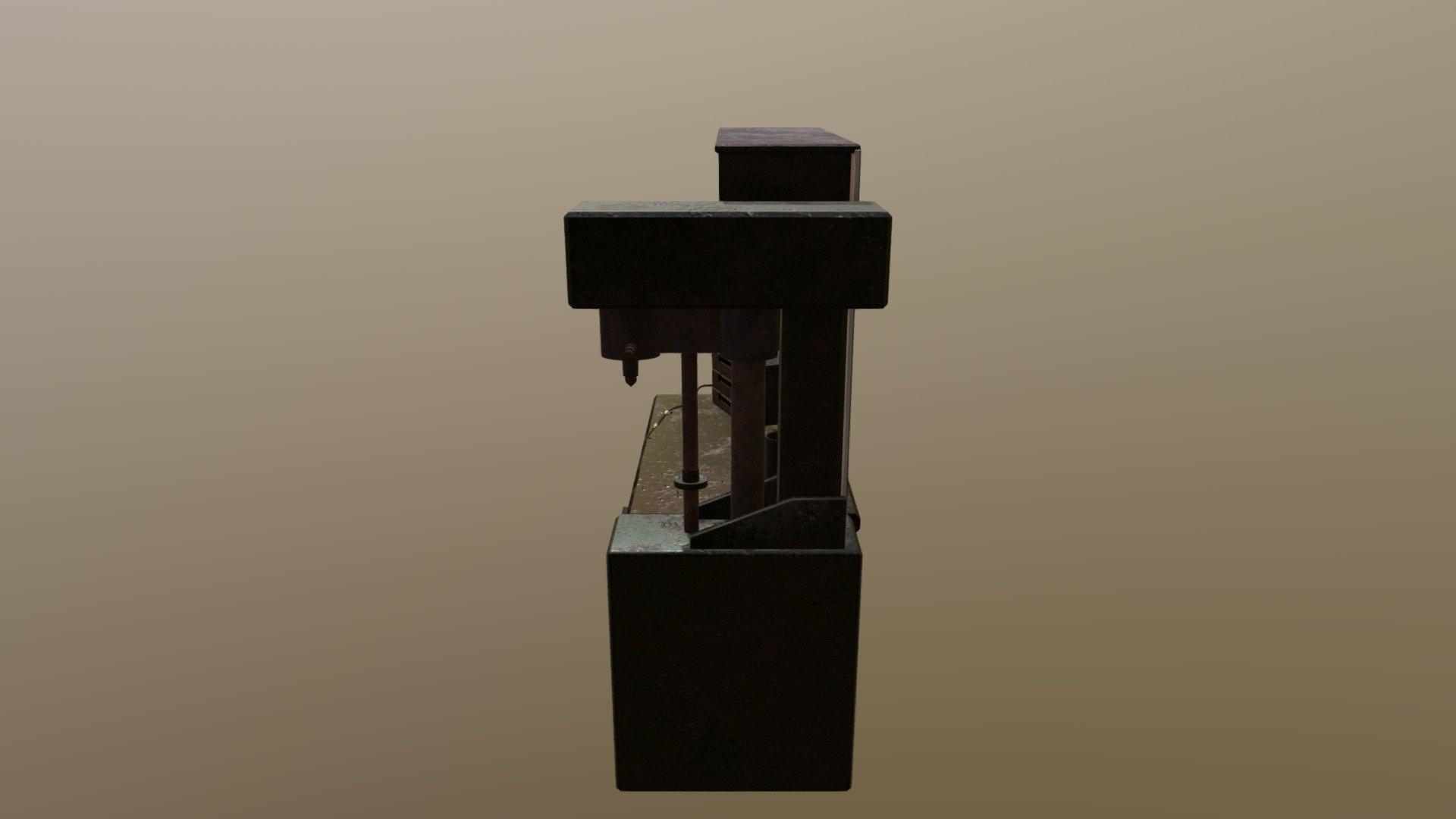 Workbench Level 3 Rust 3d Model By Vlameira Pix Vlameira Pix 967afe9 Sketchfab