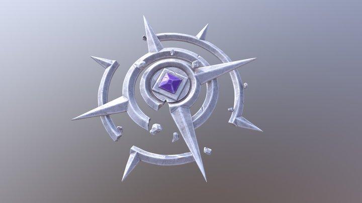Ancient Compass 3D Model