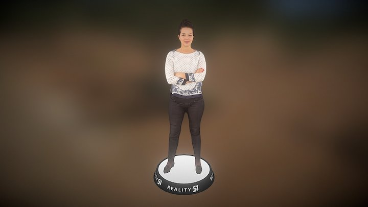 Human Scan 2749 3D Model
