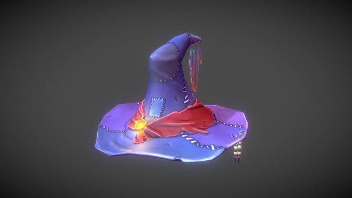 Stylized Witch Hat 3D Model