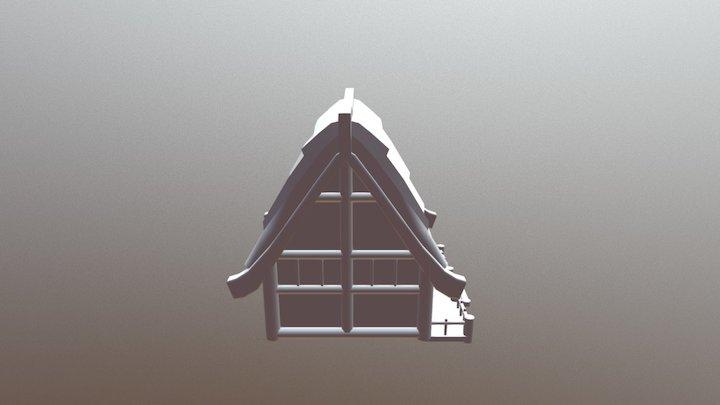 CASA COMUN PUEBLO 3D Model
