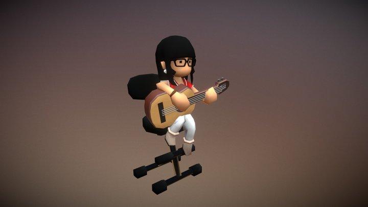 Toony 3D Model
