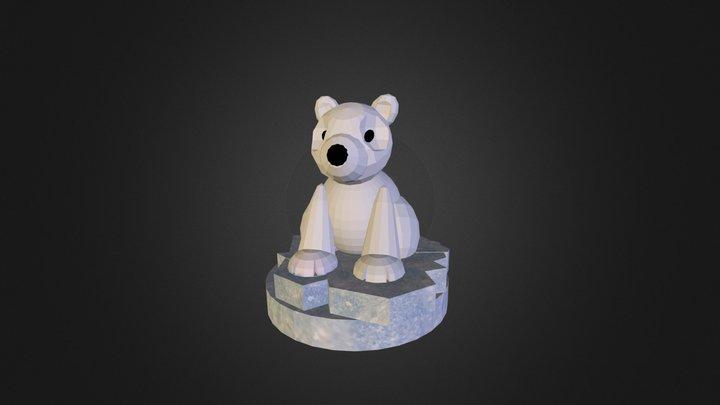 S Polar Bear 3D Model