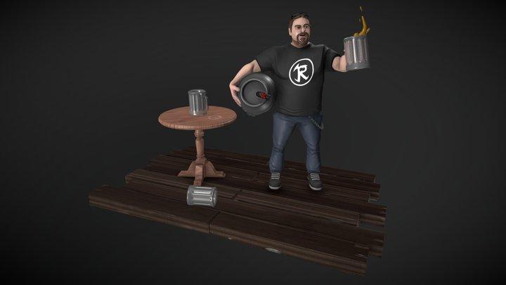 F*cking Gus 3D Model