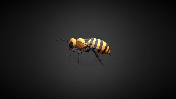Bee_Anim 3D Model