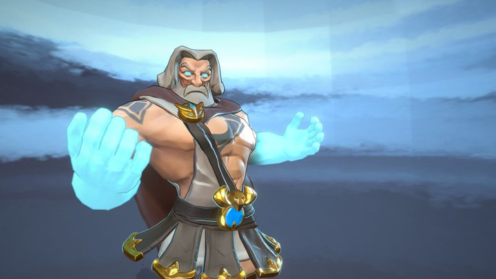 Zeus:The Ruler of Sky and Thunder 3D Model