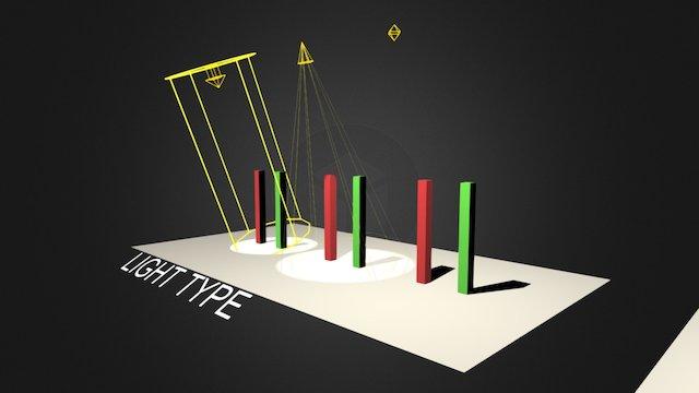 3D1-W14-Light Sample(Standard Light) 3D Model