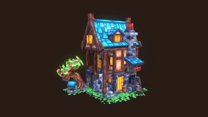Blacksmith house 3D Model