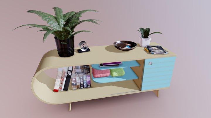 Foyer Table 3D Model