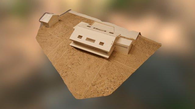 Textured Mesh of a Model of a Model 3D Model