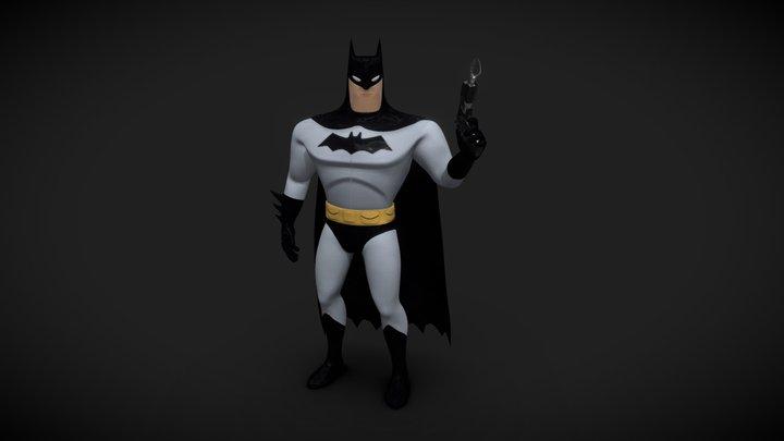BATMAN - The animated series 3D Model