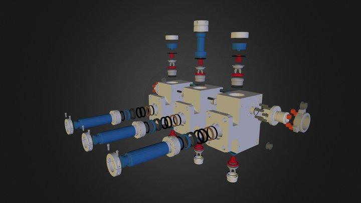 pump 2600 3D Model