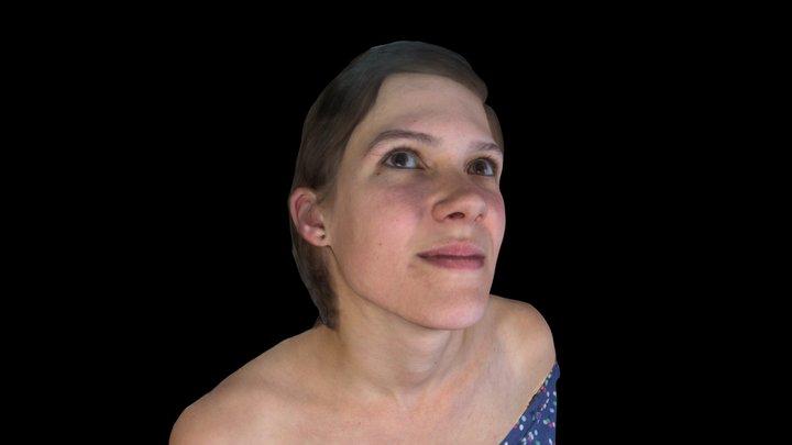 C. Colour Portrait 3D Model