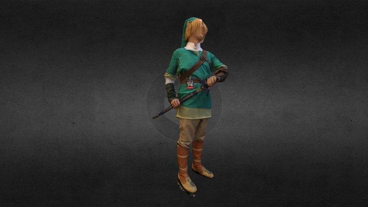 Link Cosplay 3D Model