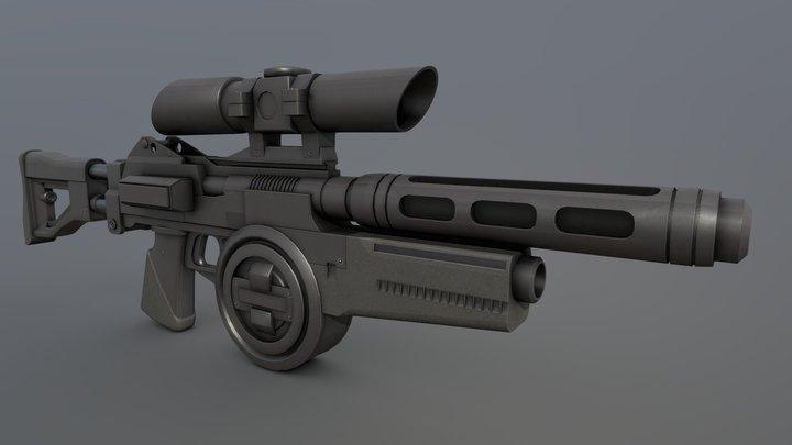 Westar M5 Blaster Rifle 3D Model