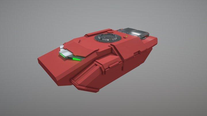 Danin Tank Sketchfab02 3D Model