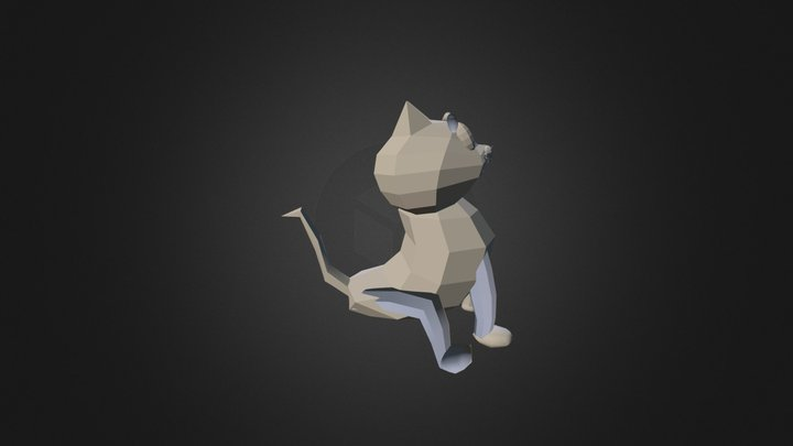 Gato 3D Model