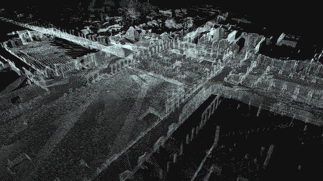 Pompeii Forum 3D Model