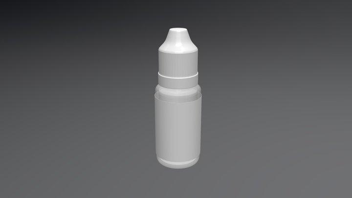 Eye Drops Bottle 3D Model