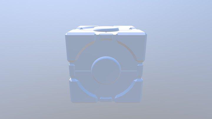 Companion Cube2 3D Model